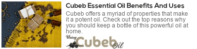 health benefits of cubeb oil